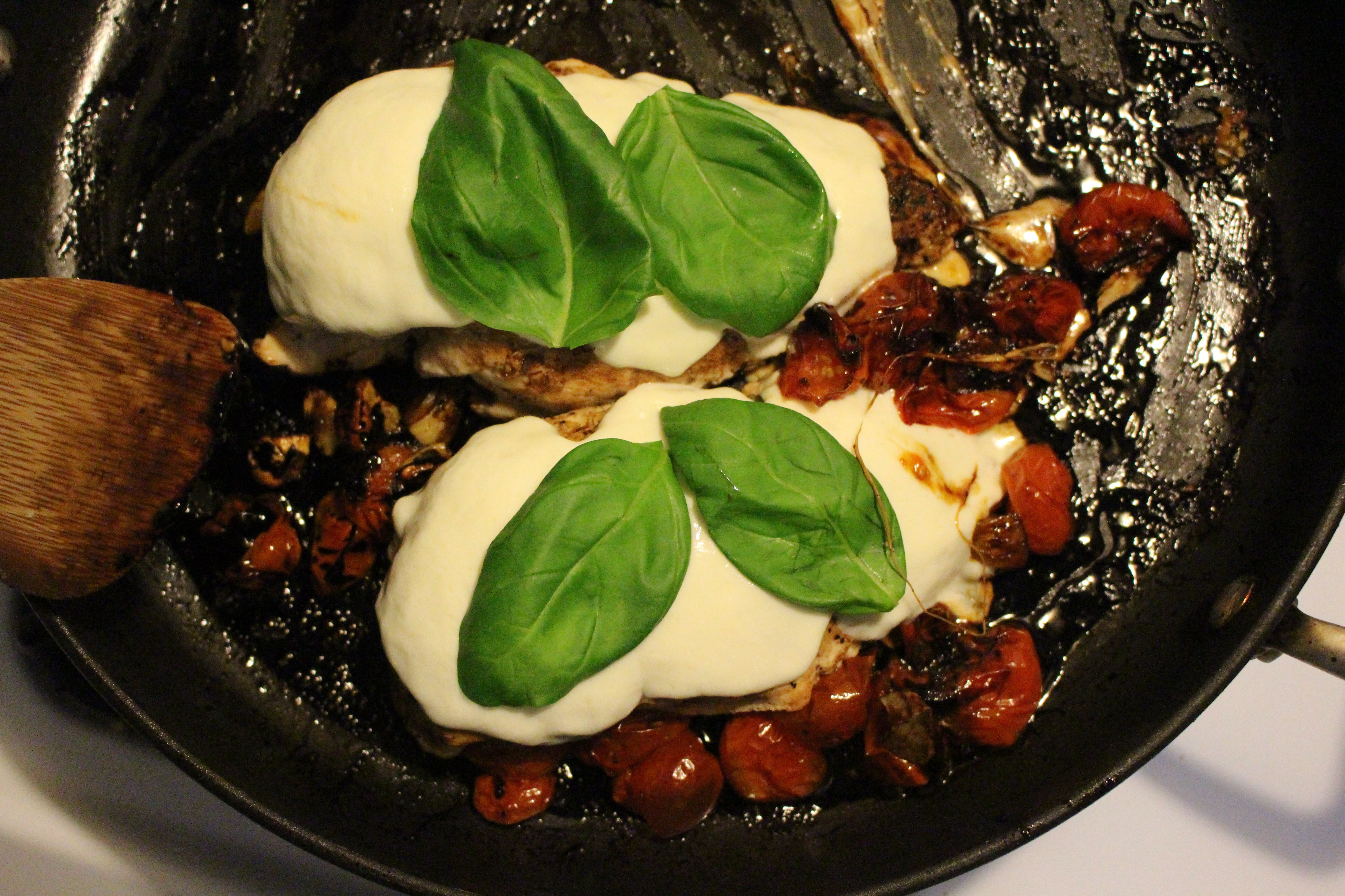 My Latest Obsessions+ Caprese Chicken
