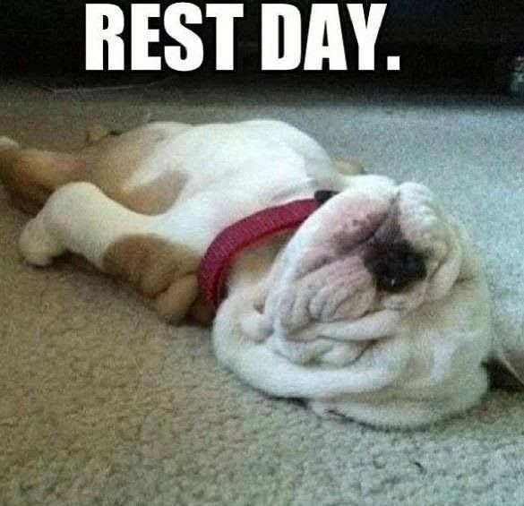 Wellness Wednesday: Total Rest & Recovery